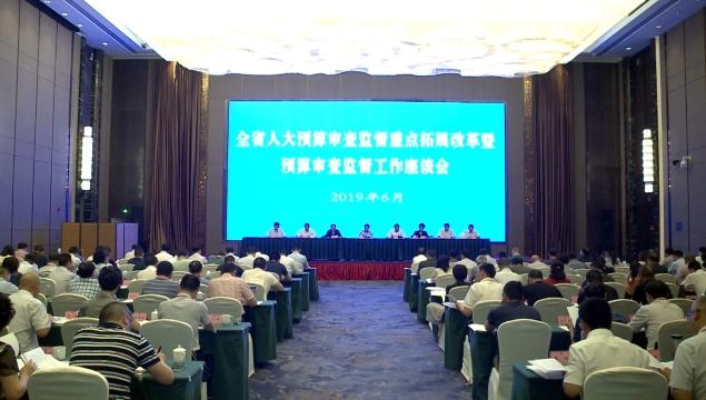 全省人大预算审查监督重点拓展改革暨预算审查监督工作座谈会在内江举行