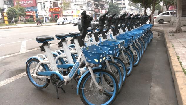 市中区探索管理共享单车新途径