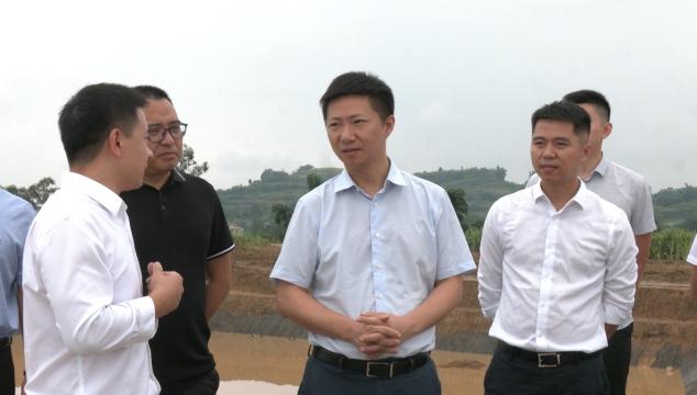 市中区委主要领导带队到龙门镇调研