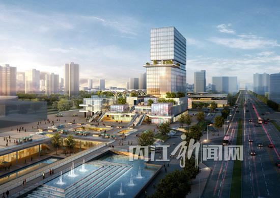 汽车站站前广场设计展示
