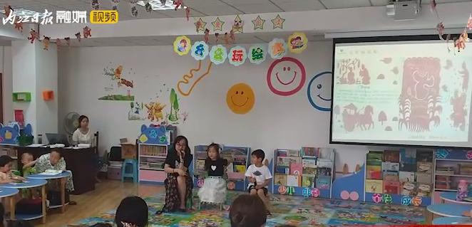 欢庆端午 内江市图书馆讲故事