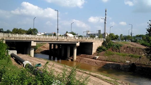 小青龙河污水管网(高桥段)全线接通