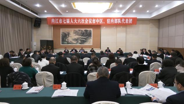 市七届人大六次会议各代表团举行分组审议