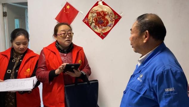 甘泉寺社区积极开展人口普查工作