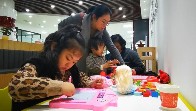 东兴区:依托社区积极打造儿童之家