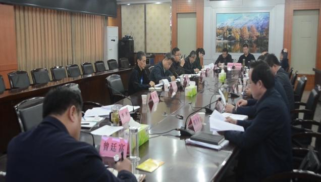 沱江(资中段)县级河长2020年第二次例会召开