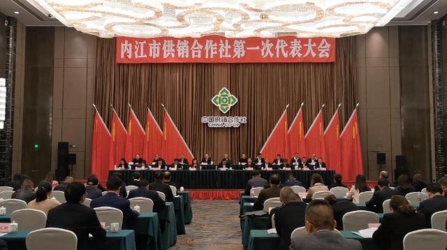 内江市供销合作社召开第一次代表大会