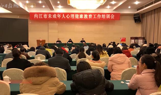 内江市未成年人心理健康教育工作培训会召开