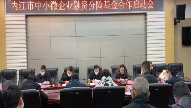 内江市中小微企业融资分险基金合作启动会召开