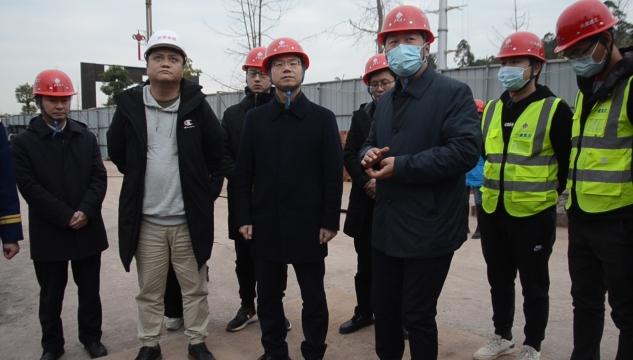 市中区政府主要领导带队开展元旦节前安全生产工作检查