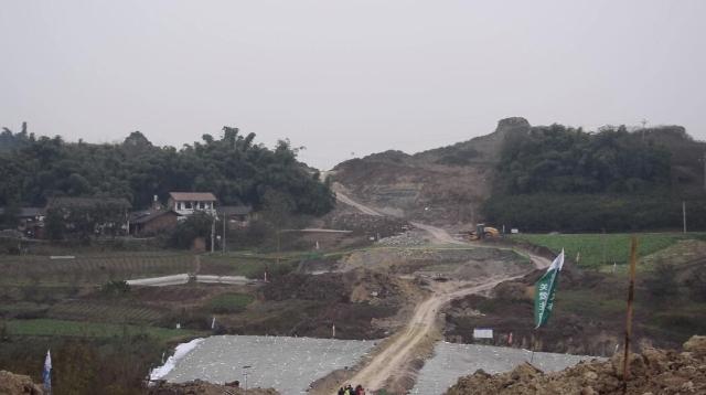 元旦节日期间 内江市重点项目稳步推进