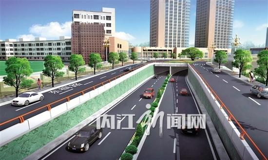 内江路桥集团重点建设项目扫描